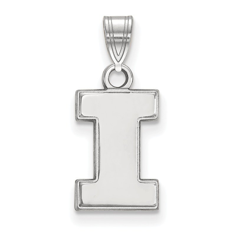 NCAA Gold University of Illinois NCAA Pendant