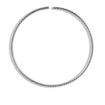 Classic Chain Choker Necklace in Silver. Available at our Halifax store.
