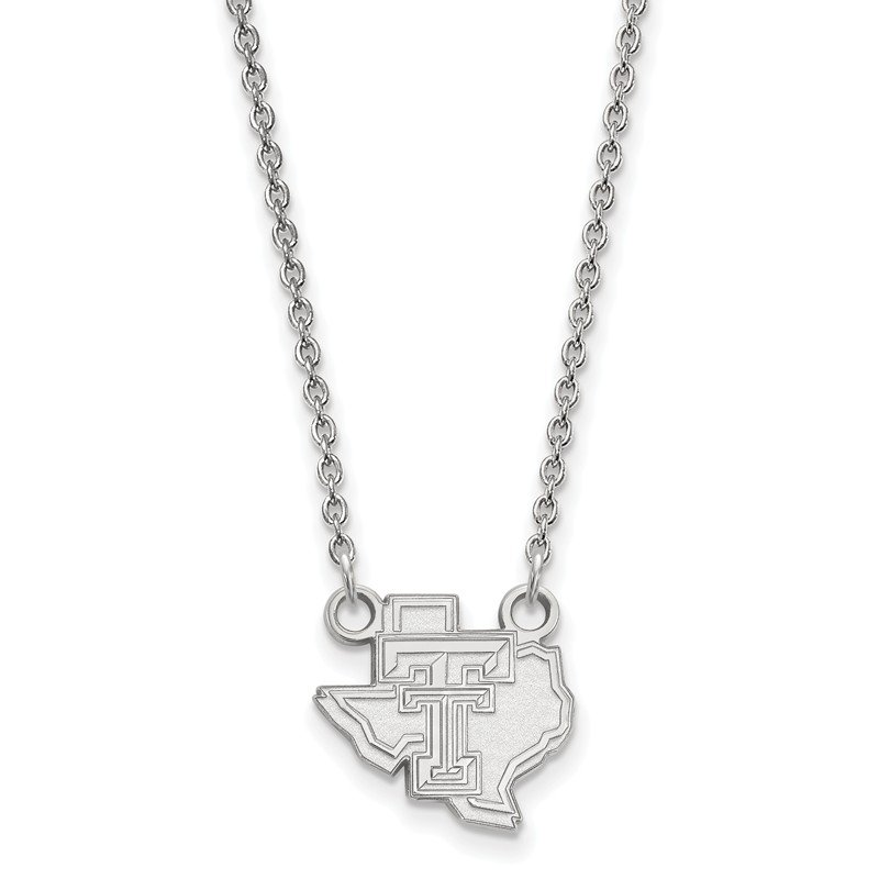 NCAA Sterling Silver Texas Tech University NCAA Necklace