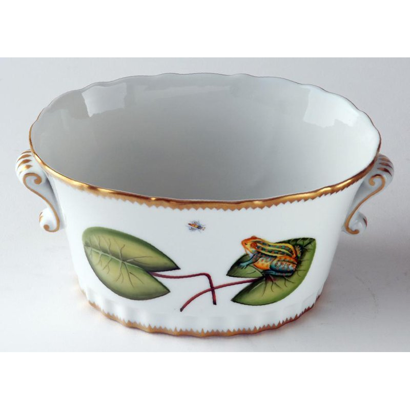 Anna Weatherley Oval Frog Cache Pot