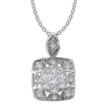 Fashion Diamond Pendant