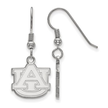 Sterling Silver Auburn University NCAA Earrings