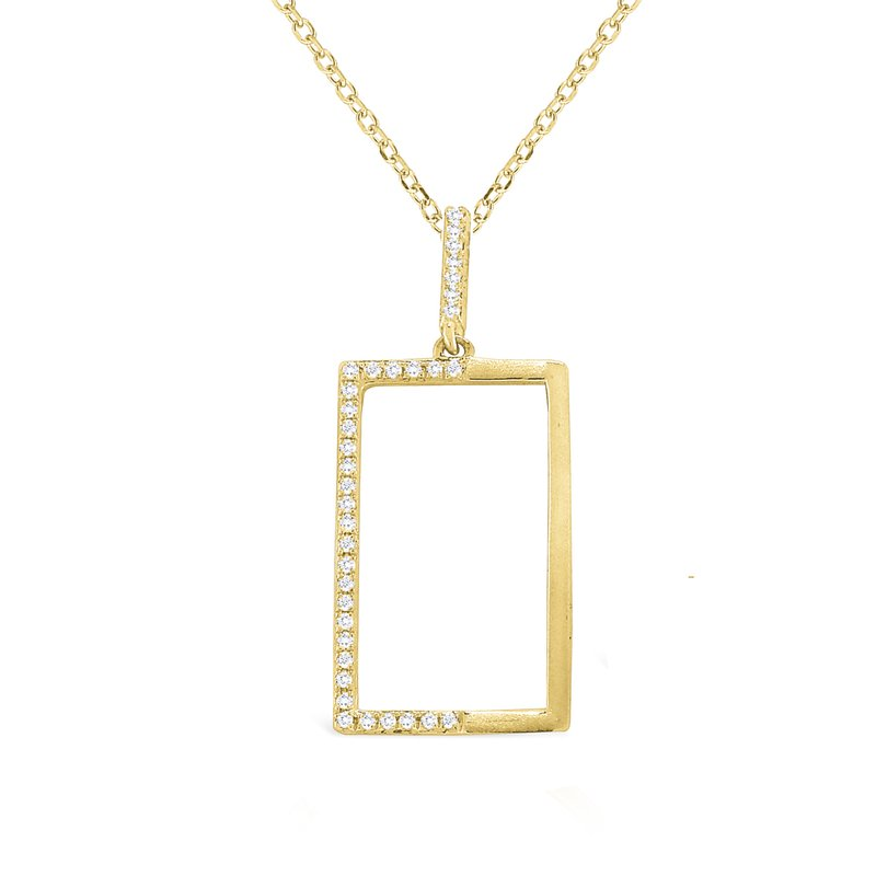 KC Designs 14K Diamond Geometric Necklace