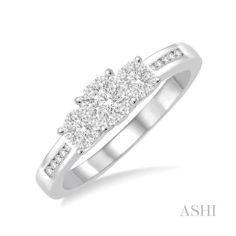 Gemstone Collection past present & future lovebright diamond ring
