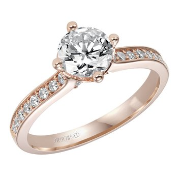 Juliet Engagement Ring Semi