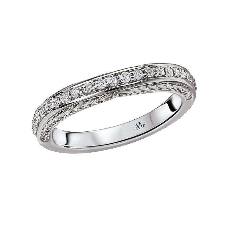 LaVie Vintage Wedding Band