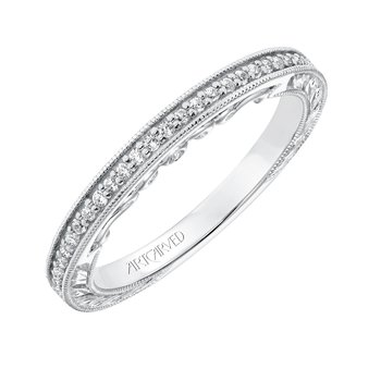 Artcarved Perla Wedding Band
