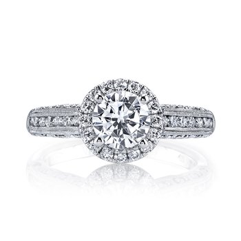 Diamond Engagement Ring 0.54 ct tw