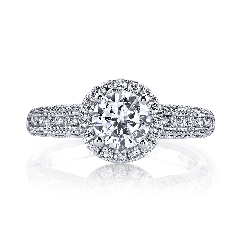 MARS Jewelry Diamond Engagement Ring 0.54 ct tw