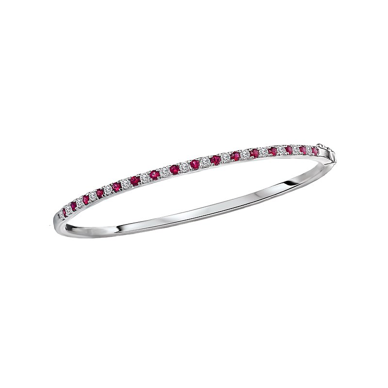 Tesoro Ladies Fashion Diamond and Gemstone Bracelet