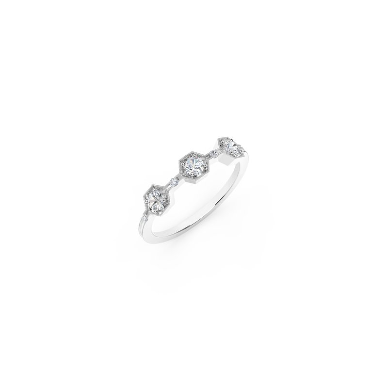 Forevermark The Forevermark Tribute™ Collection Three Stone Diamond Ring