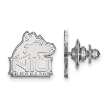 Sterling Silver Northern Illinois University NCAA Lapel Pin