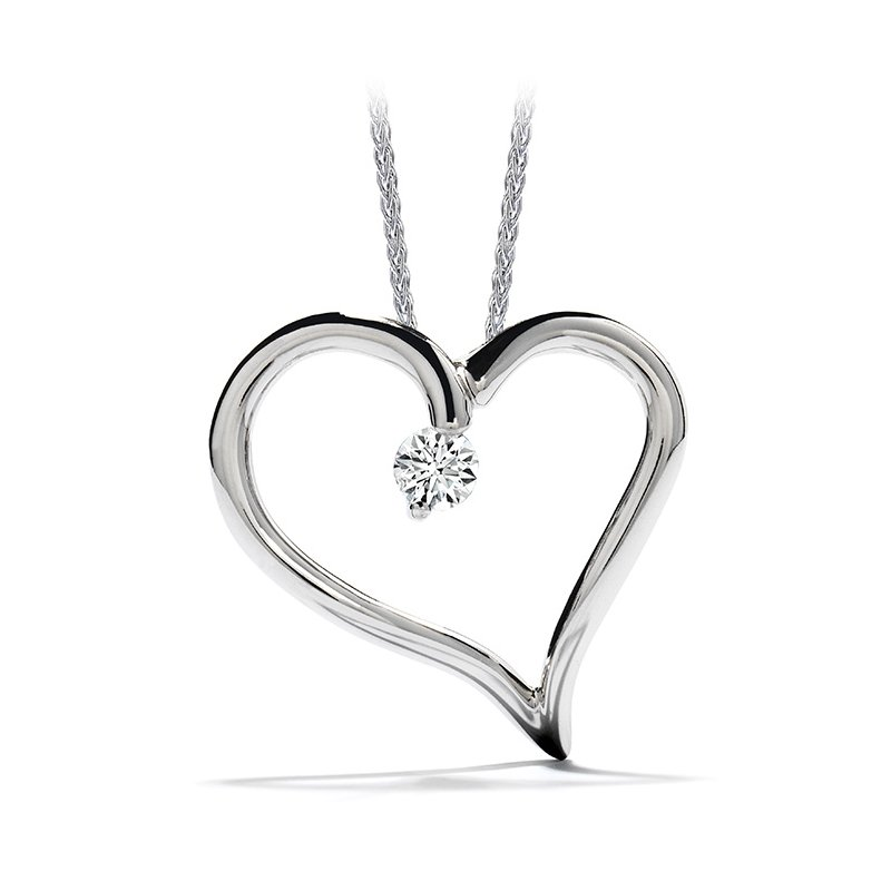 Hearts on Fire Amorous Heart Pendant Necklace