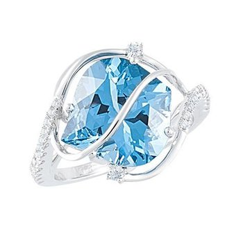 Aqua Blue Spinel Ring-CR9999WAQ