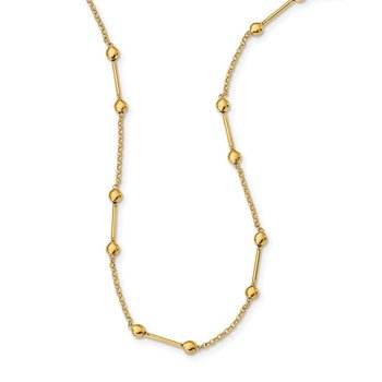 14K w/ 1in ext. Fancy Necklace