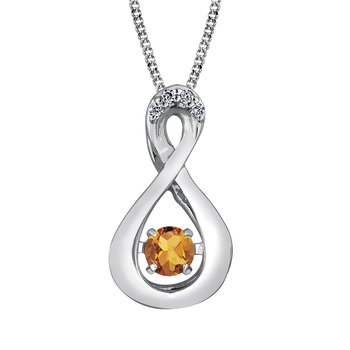Pulse™ Citrine Pendant
