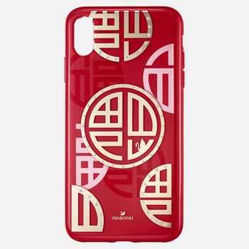 Full Blessing Fu Smartphone Case with Bumper, iPhone® XS Max, Red