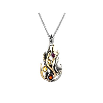 """Fire"" Element Pendant"