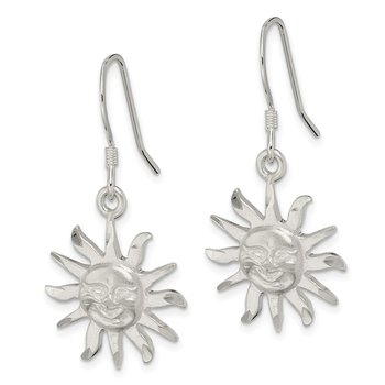 Sterling Silver Smiling Sunshine Earrings