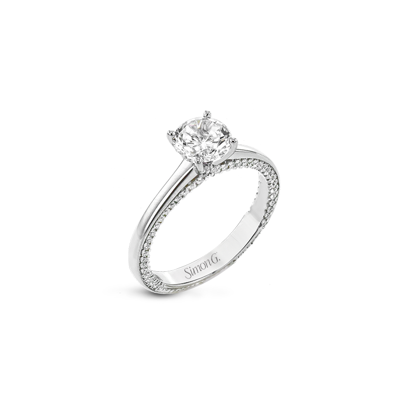Simon G LR2460-RD ENGAGEMENT RING