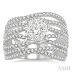 ASHI lovebright diamond ring