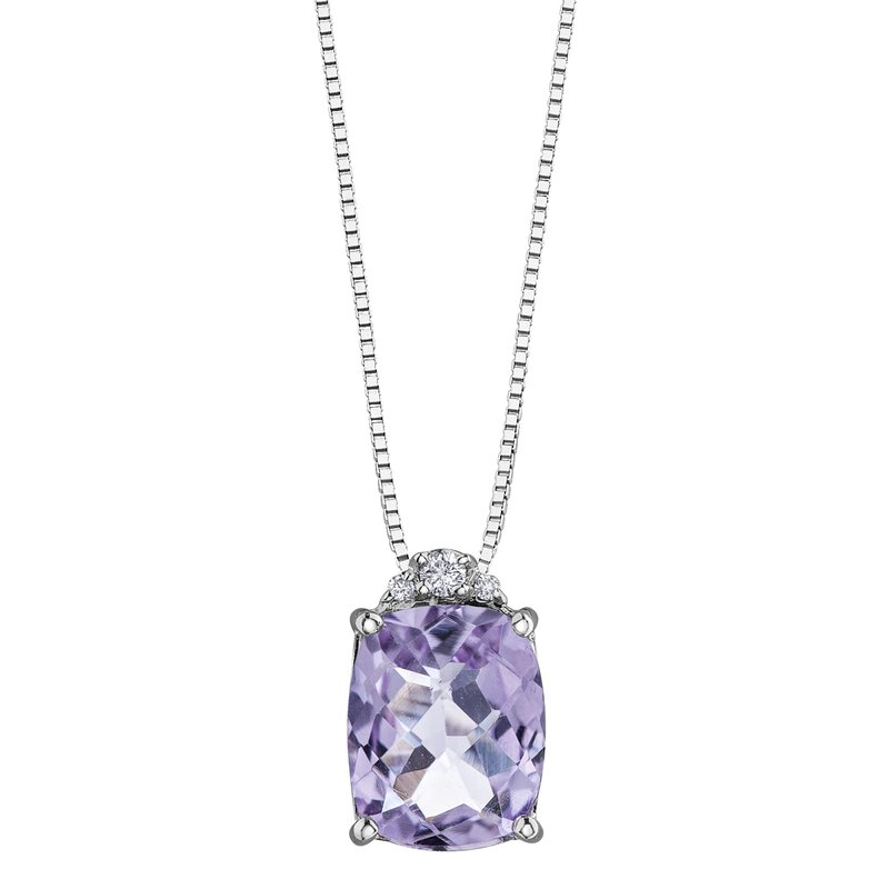 Timeless Beauty Pink Amethyst Pendant