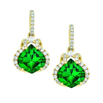 Emerald Earrings-CE3035YEM