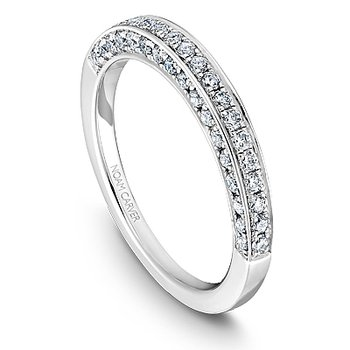 Noam Carver Wedding Band B003-02B