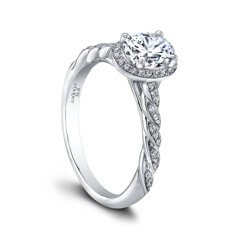 Jeff Cooper Lisa Oval Engagement Ring