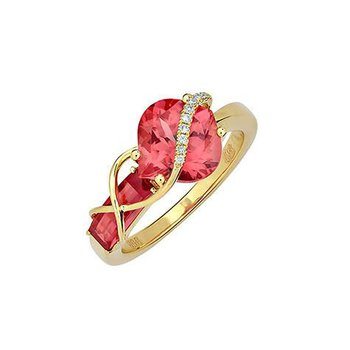 Padparadscha Ring-CR11887YPD
