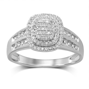 10K  0.25Ct  Diamond  Ring.