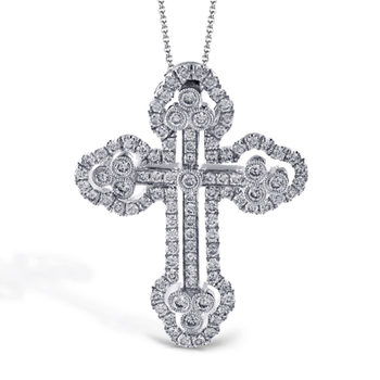 LP4075-S CROSS PENDANT