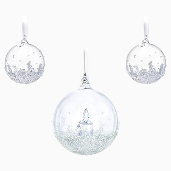 Christmas Ball Ornament Set, Annual Edition 2017