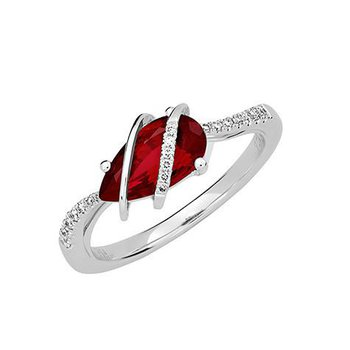 Ruby Ring-CR12409WRU