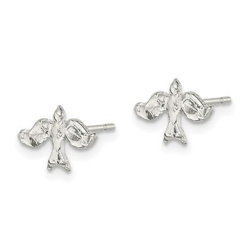 Sterling Silver Dove Mini Earrings