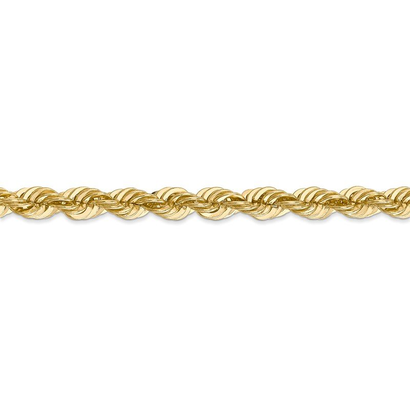 Quality Gold 14k 6mm Regular Rope Chain
