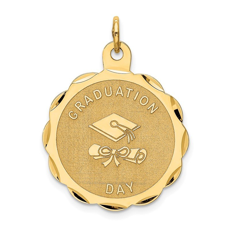 Lester Martin Online Collection 14k GRADUATION DAY with Diploma Charm