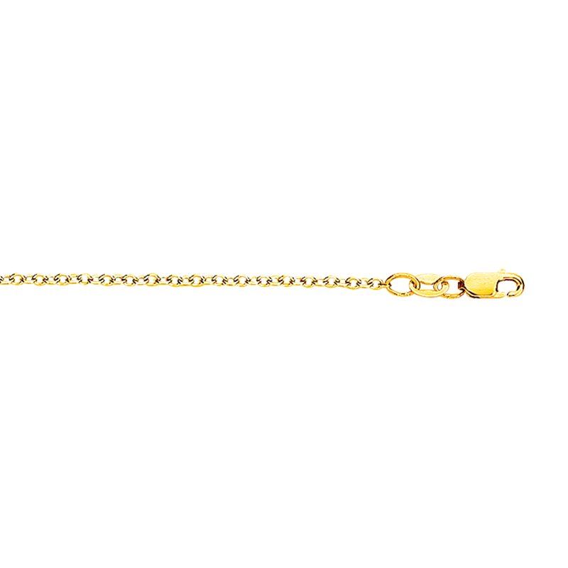 Royal Chain 18K Gold 1.5mm Cable Chain
