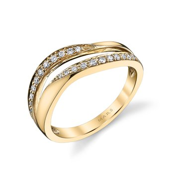 MARS 26576 Fashion Ring, 0.18 Ctw.