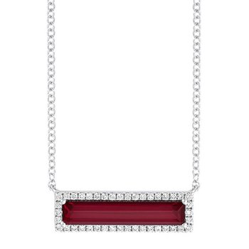 Ruby Necklace-CPN0025WRU