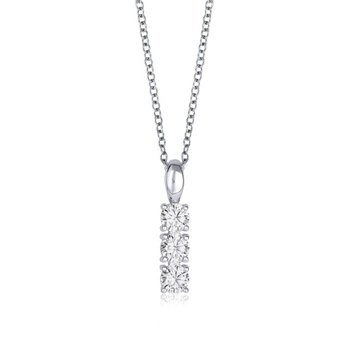 Three Cubic Zirconia Pendant