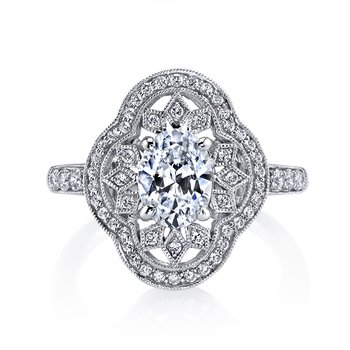 MARS 25262 Diamond Engagement Ring 0.43 ct tw