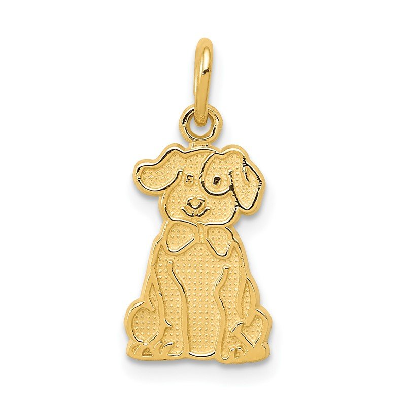 Quality Gold 14k Puppy Charm