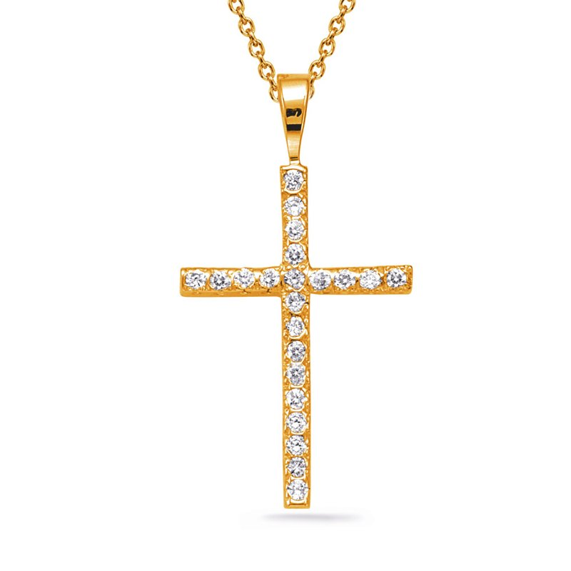 Briana Diamond Fishtail Cross