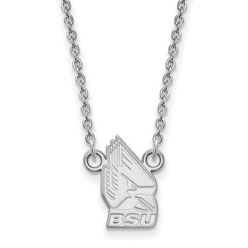 Gold Ball State University NCAA Necklace