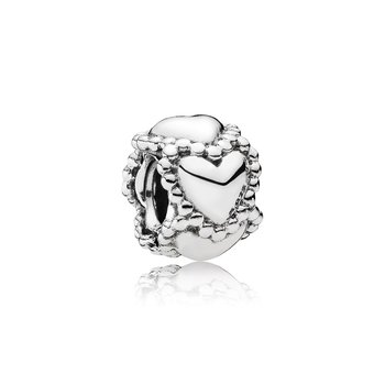 Everlasting Love Hearts Charm