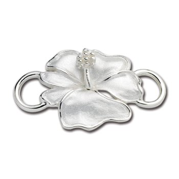 Sterling Silver Hibiscus