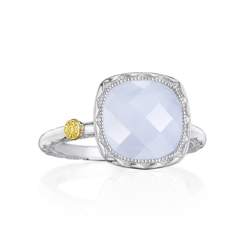 Tacori Fashion Cushion Gem Ring with Chalcedony
