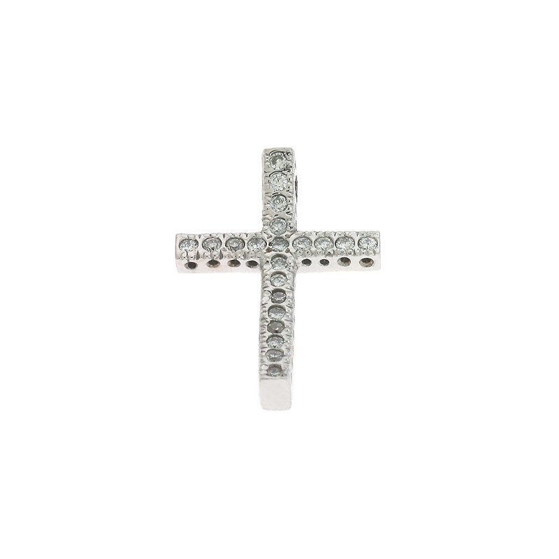 S. Kashi  & Sons Fishtail Diamond Cross