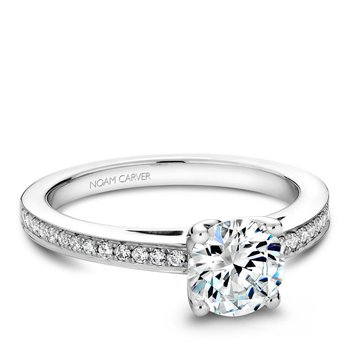 Noam Carver Modern Engagement Ring B036-01A